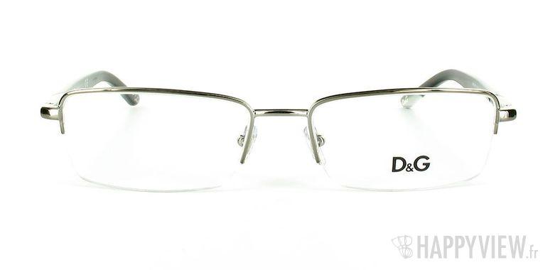 Lunettes de vue Dolce & Gabbana D&G 5063 argenté - vue de face