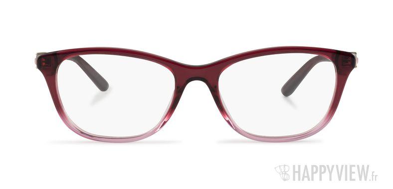 Lunettes de vue Versace VE 3213B rose - vue de face