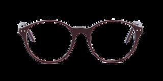 Lunettes de vue Happyview ELEONORE rouge fabriquées en France
