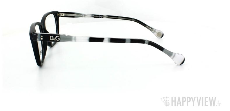 Lunettes de vue Dolce & Gabbana D&G 1238 noir - vue de côté