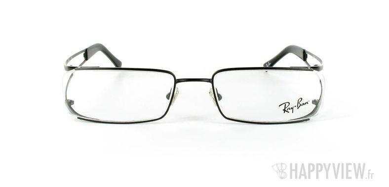 Lunettes de vue Ray-Ban Ray-Ban RX6108 gris/noir - vue de face