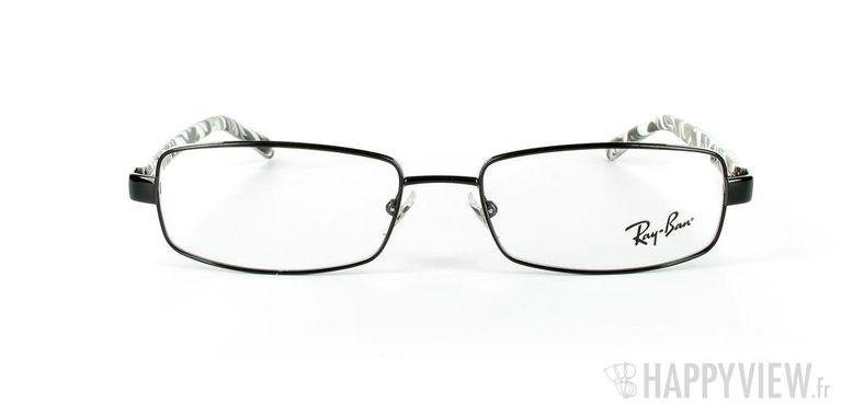 Lunettes de vue Ray-Ban Ray-Ban RX6092 noir/écaille - vue de face