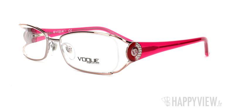 Lunettes de vue Vogue Vogue 3726B rose - vue de 3/4