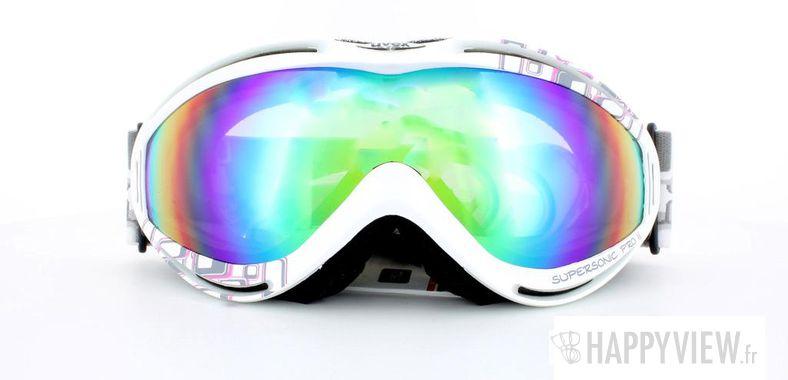 Lunettes de soleil Uvex Uvex Supersonic Pro 2 Medium blanc - vue de face