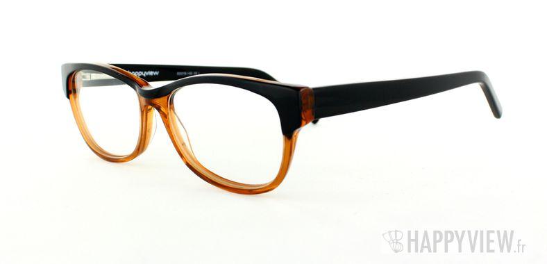 Lunettes de vue Happyview Dourdan orange/noir - vue de 3/4