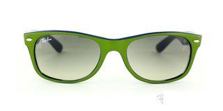 Lunettes de soleil Ray-Ban Ray-Ban New Wayfarer vert/bleu