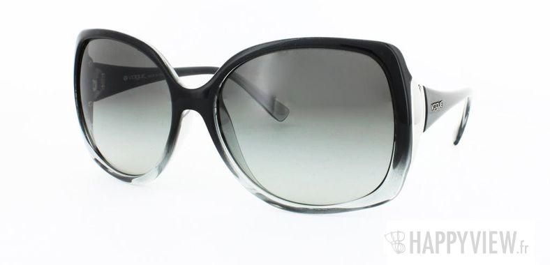 Lunettes de soleil Vogue Vogue 2695S noir/gris - vue de 3/4