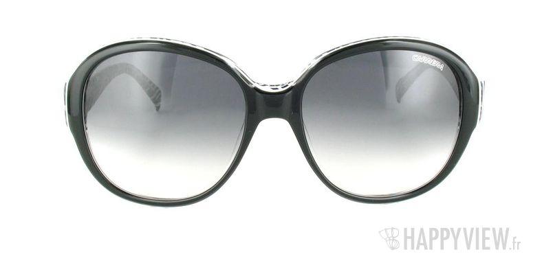 Lunettes de soleil Carrera Carrera Colette noir - vue de face