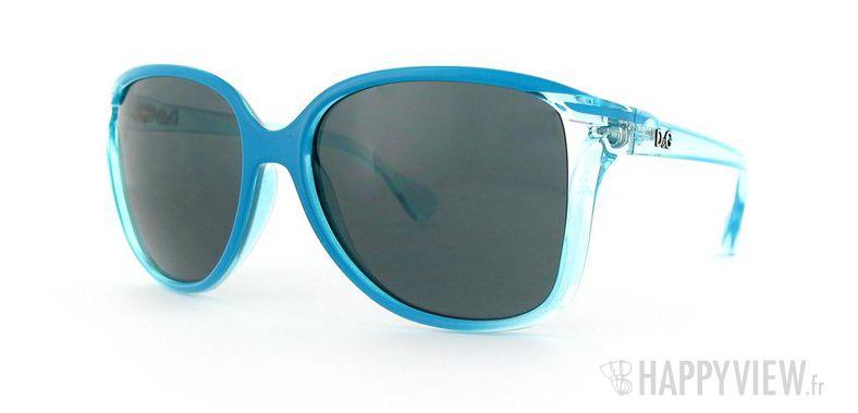 Lunettes de soleil Dolce & Gabbana Dolce&Gabbana 8094 bleu - vue de 3/4