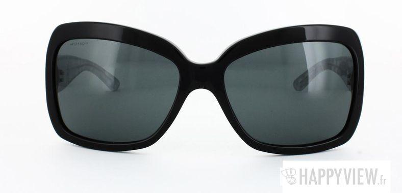 Lunettes de soleil Burberry Burberry 4074 noir - vue de face