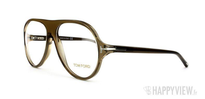 Lunettes de vue Tom Ford Tom Ford 5012 marron - vue de 3/4