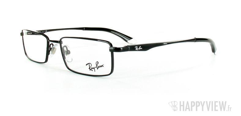 Lunettes de vue Ray-Ban Ray-Ban RX6114 noir - vue de 3/4