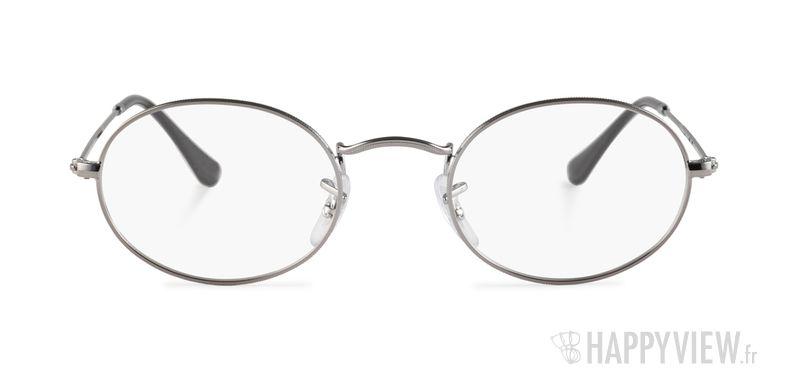 Lunettes de vue Ray-Ban RX 3547 argenté - vue de face