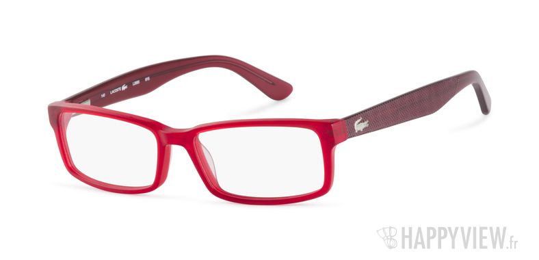 Lunettes de vue Lacoste L 2685 rouge - vue de 3/4