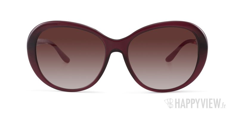 Lunettes de soleil Versace VE 4324B rouge - vue de face