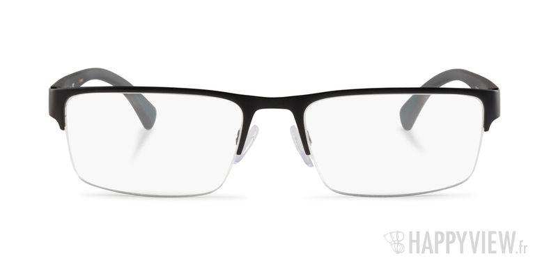 Lunettes de vue Emporio Armani EA 1050 noir - vue de face