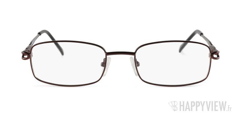 Lunettes de vue Happyview Rodez marron - vue de face