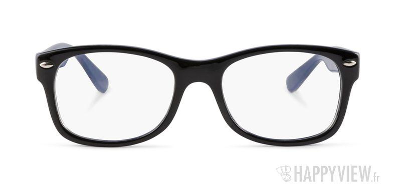 Lunettes de vue Happyview Bayonne noir/bleu - vue de face