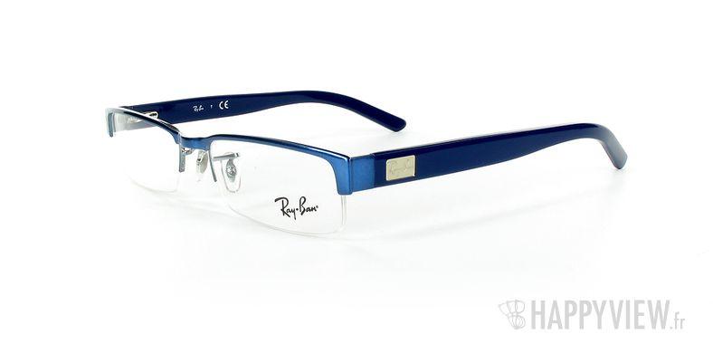 Lunettes de vue Ray-Ban Ray-Ban RX6182 bleu - vue de 3/4