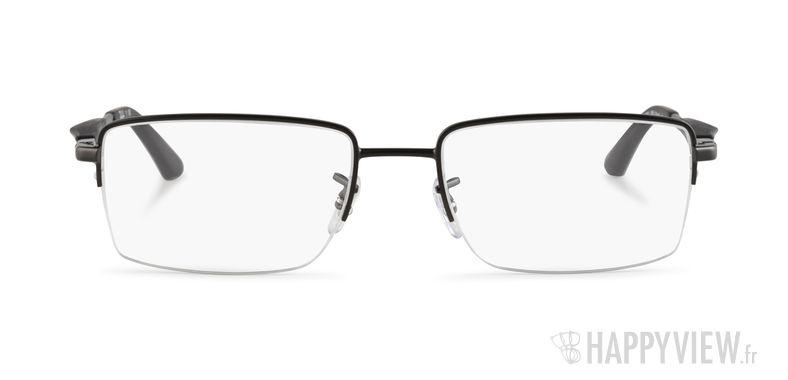 Lunettes de vue Ray-Ban RX 6285 noir - vue de face