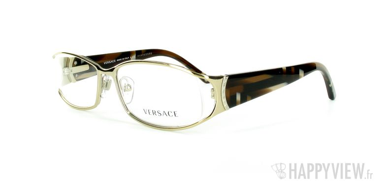 Lunettes de vue Versace VERSACE 1162 doré - vue de 3/4