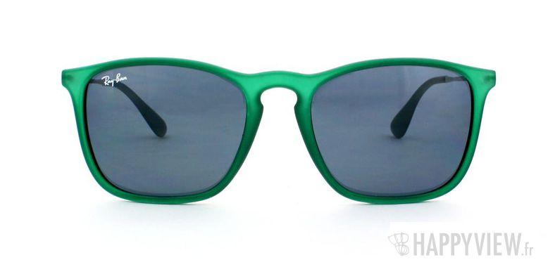 Lunettes de soleil Ray-Ban Ray-Ban RB4187 vert - vue de face