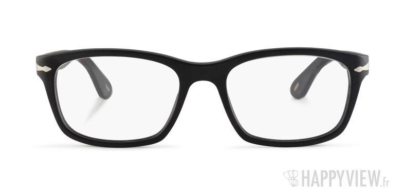 Lunettes de vue Persol PO 3012V noir - vue de face