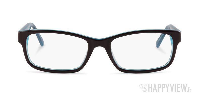 Lunettes de vue Le Temps des Cerises Vicky marron/bleu - vue de face
