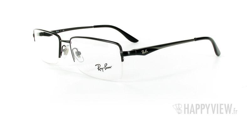 Lunettes de vue Ray-Ban Ray-Ban RX6154 noir - vue de 3/4
