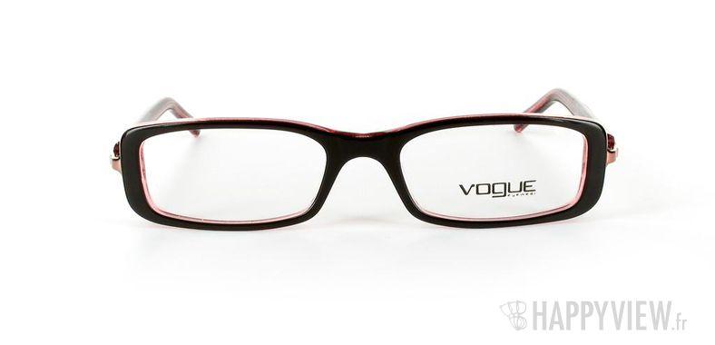 Lunettes de vue Vogue Vogue 2647 noir/rose - vue de face