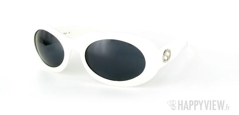 Lunettes de soleil Gucci Gucci 2400 gris - vue de 3/4