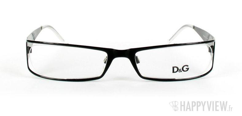 Lunettes de vue Dolce & Gabbana D&G 5003 noir - vue de face