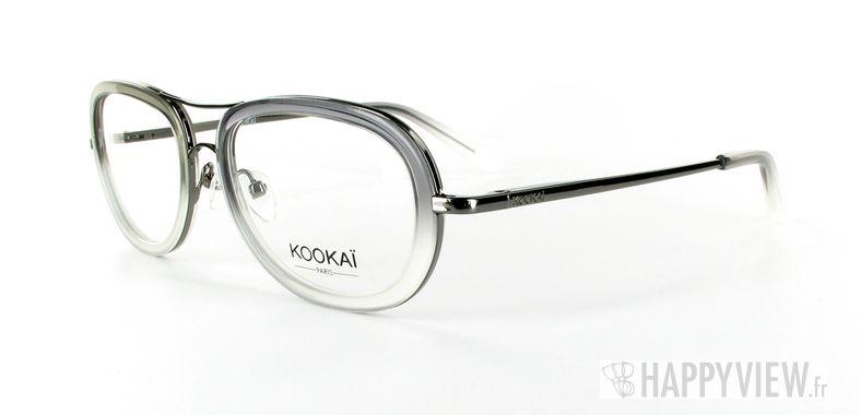 Lunettes de vue Kookaï Kookai 107 gris - vue de 3/4