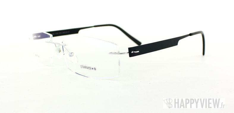 Lunettes de vue Starvision by Seiko Starvision 1016 Titane noir - vue de 3/4