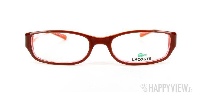 Lunettes de vue Lacoste Lacoste 12231 marron - vue de face