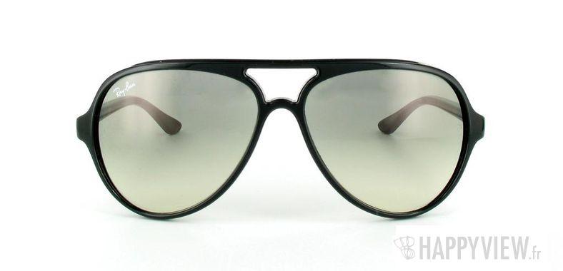 Lunettes de soleil Ray-Ban Ray-Ban Cats 5000 RB4125 noir/gris - vue de face