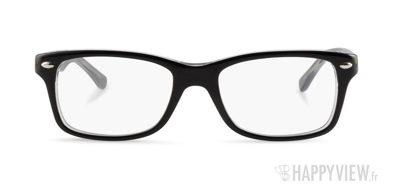 Lunettes de vue Ray-Ban RY 1531 Junior noir/gris - vue de face