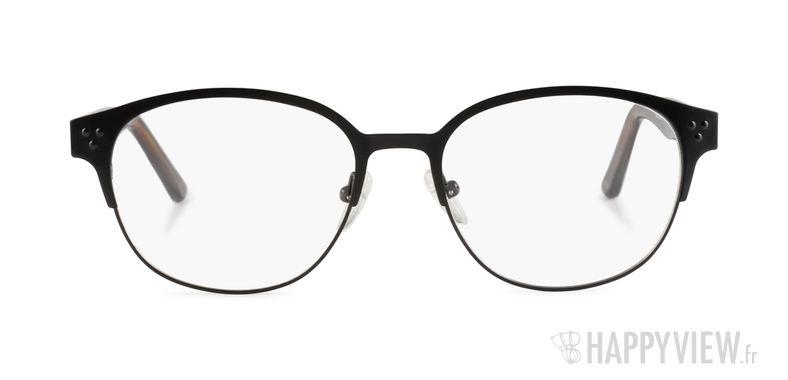 Lunettes de vue Happyview Verlaine noir - vue de face