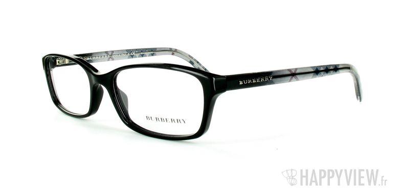 Lunettes de vue Burberry Burberry 2073 noir - vue de 3/4