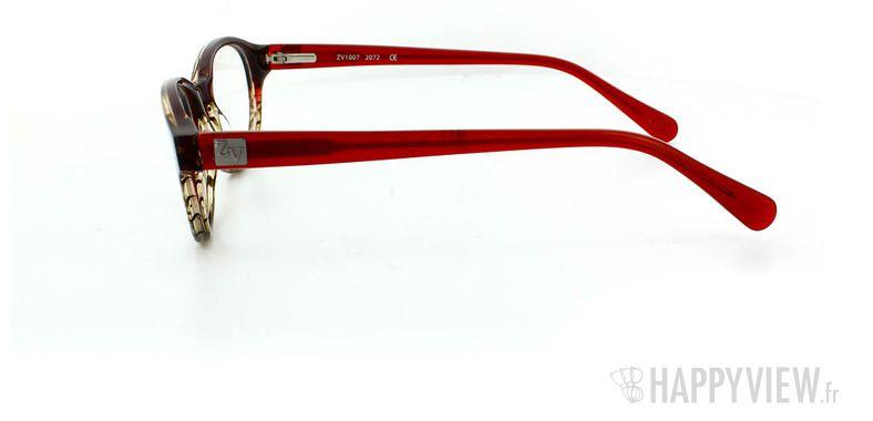 Lunettes de vue Zadig&Voltaire Zadig&Voltaire 1007 rouge - vue de côté