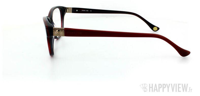 Lunettes de vue Zadig&Voltaire Zadig&Voltaire 2034 rouge - vue de côté