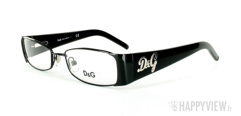 Lunettes de vue Dolce & Gabbana D&G 5049 noir - vue de 3/4