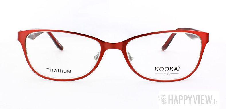 Lunettes de vue Kookaï Kookai 204 Titane rose - vue de face