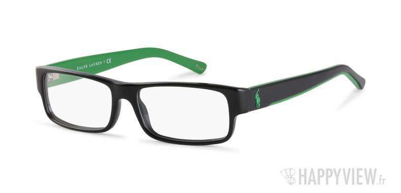Lunettes de vue Polo Ralph Lauren PH 2058 vert/noir - vue de 3/4