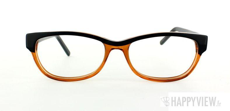 Lunettes de vue Happyview Dourdan orange/noir - vue de face
