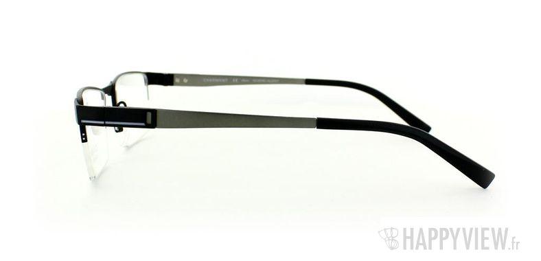 Lunettes de vue Charmant Charmant 10765 Titane noir/gris - vue de côté