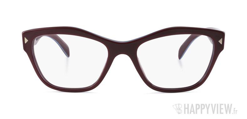 pr 27sv lunettes de vue prada rouge pas cher en ligne. Black Bedroom Furniture Sets. Home Design Ideas