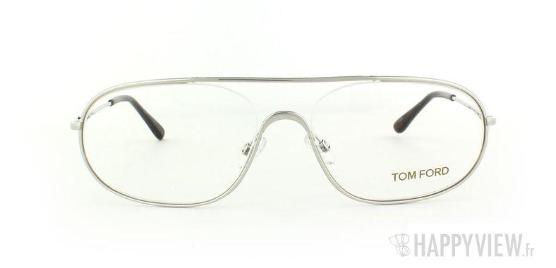 Lunettes de vue Tom Ford Tom Ford 5155 argenté - vue de face