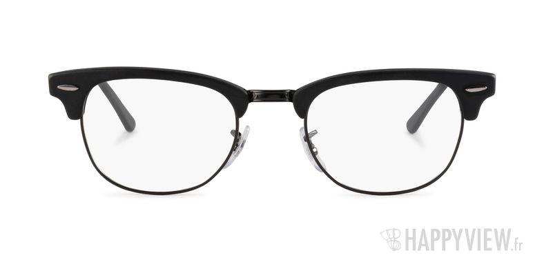 Lunettes de vue Ray-Ban RX 5154 Clubmaster noir - vue de face