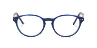 Lunettes de vue Happyview CAPUCINE bleu fabriquées en France